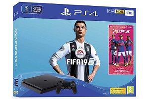 Console Sony Playstation 4 Slim versão Fifa 19 - 1TB