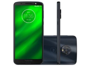 "Moto G6 Plus Dual Chip / Tela 5.9"" / Octa-Core 2.2 GHz / 64GB / Câm Dual 12+5MP"