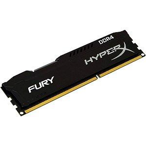 Memória RAM HyperX Fury / DDR4 / 16GB / 2666hz / Preta