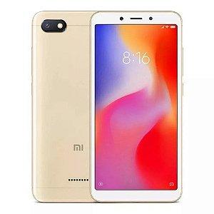 """Xiaomi Redmi 6A / 2GB Ram / 16 GB / 5.45"""" / Câm 13MP / Dourado"""