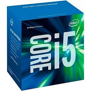 Processador Intel Core i5 7400 3.0GHz (3.5GHz Turbo), 7a Geração, 4-Core 4-Thread, LGA 1151, BX80677I57400