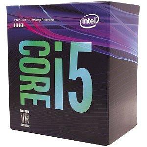 Processador Intel Core i5 8500 3GHz (4.1GHz Turbo), 8a Geração, 6-Core 6-Thread, LGA 1151, BX80684I58500