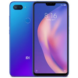 """Xiaomi MI 8 Lite / Dual Câm (12+5Mp) / 6.26"""" / Octa-Core / 6GB Ram / 128GB - Azul"""