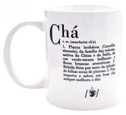 CANECA DICIONÁRIO CHÁ