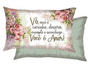 ALMOFADA VÓ CARINHO