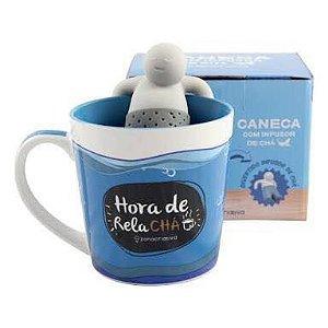 CANECA COM INFUSOR RELA CHA