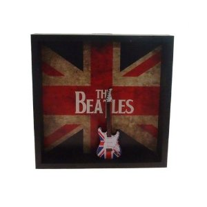 QUADRO 3D GUITAR BEATLES