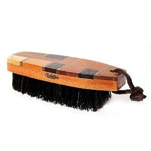 Escova para Cabelo e Barba (Cabo de Marchetaria)