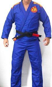 Kimono Barbosa Jiu Jitsu Light Azul