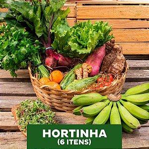 Hortinha - 06 itens (Mensal)