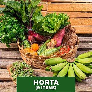 Horta - 09 itens (Mensal)