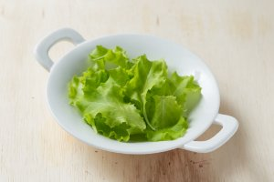 Microfolhas (brotos) de Alface Verde