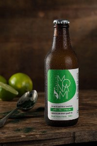 Kombuchá - Limão, mel e spirulina - 300ml