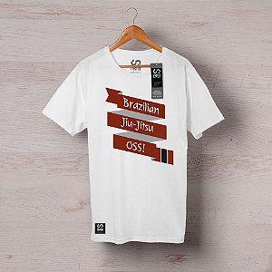 Camisa INSIST Faixa Marrom Cruzada