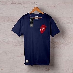 Camisa INSIST Coração Jiu Jitsu Batimento Cardíaco