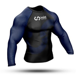 Rash Guard INSIST Azul Manga Longa
