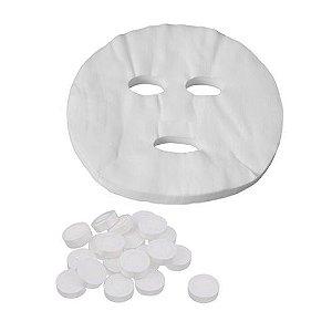 Máscara Facial Desidratada Preparação De Procedimento 10un