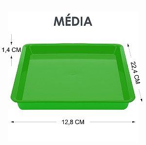 Bandeja Tray Autoclavável M 22,4 X 12,8 X 1,4