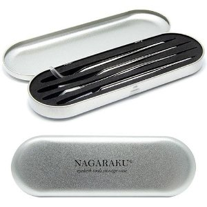 Estojo Metálico Para Pinças Nagaraku