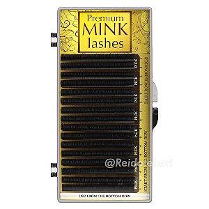 Cílios Fio a Fio Premium Mink 16 Linhas