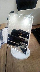 Espelho Led Touch COM  UM LED AMARELO (Nº2)