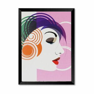 QUADRO DECORATIVO BEAUTY AUREA