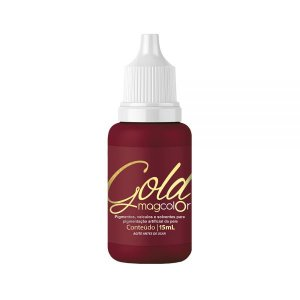 Pigmento Mag Color Gold Bordô 5ml / 15ml