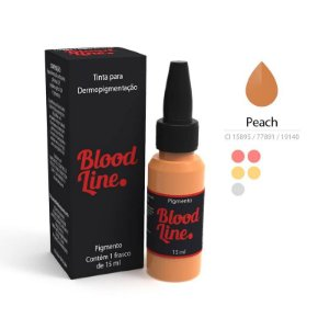 Pigmento Blood Line Pêssego (Peach) 15ml