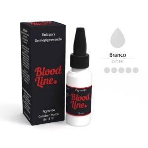 Pigmento Blood Line Branco 15ml