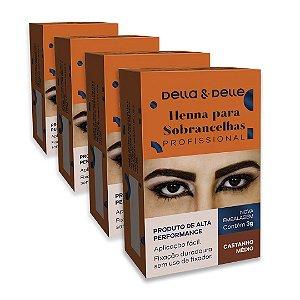 Henna Sobrancelha 3g - Della & Delle