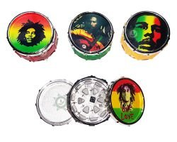 Triturador Bob Marley Metal