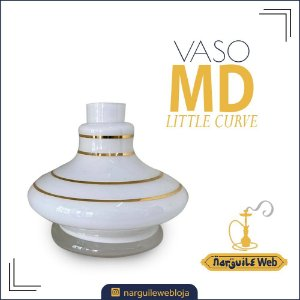 VASO MD LITTLE CURVE FILETE BRANCO