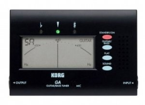 Afinador Korg Cromático GA-40 BK