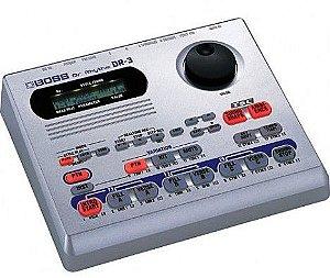 Bateria Eletrônica Boss DR3 Módulo de Ritmos