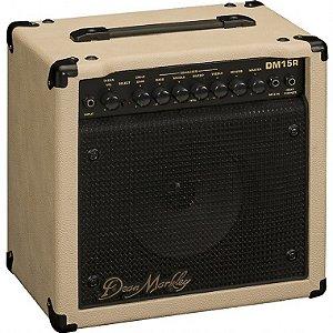 "Amplificador Guitarra 8"" Dean Markley DM15R 15W"