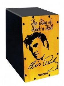 Cajón Mini Liverpool Elvis CAJ ELV