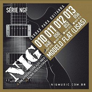 Encordoamento Guitarra .010 NIG Flat NGF810