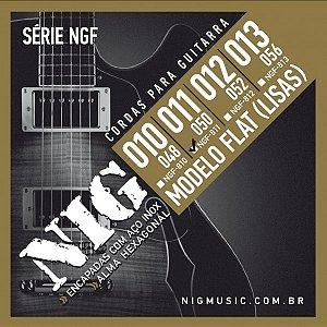 Encordoamento Guitarra .011 NIG Flat NGF811