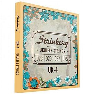 Encordoamento Ukulelê Strinberg UK-4