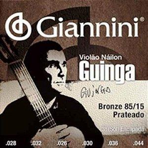 Encordoamento Violão Nylon Giannini .028 Tensão Alta Guinga