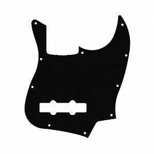 Escudo para Contrabaixo Jazz Bass Dolphin 5629 Preto