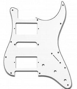 Escudo para Guitarra Stratocaster Sonotec PKG HSH Branco