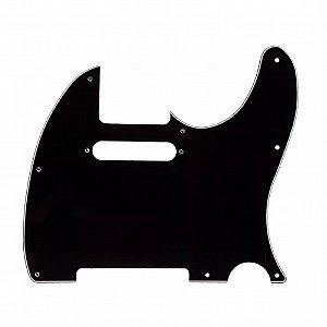 Escudo para Guitarra Telecaster Sonotec PKG TL Preto