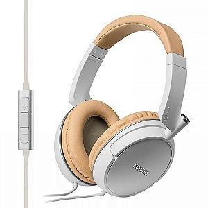 Fone de Ouvido Edifier Hi-Fi com Microfone P841 Branco