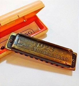 Gaita Diatônica Hering Vintage Harp 1923 1020 D Ré