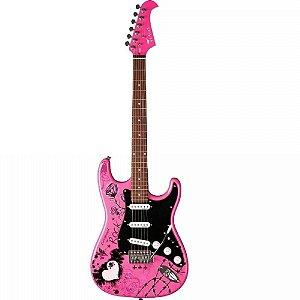 Guitarra Eagle Stratocaster Person EGP10 CR