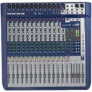 Mesa 16 Canais Soundcraft Signature 16