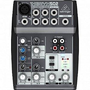 Mesa 05 Canais Behringer Xenyx 502