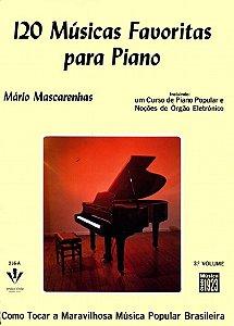 Método 120 Músicas Favoritas para Piano - Vol 3