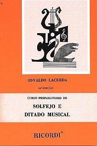 Método Curso Preparatório Solfejo e Ditado Musical